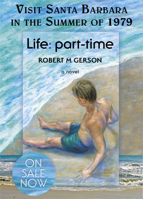 Life part-time novel cover artwork Robert Gerson