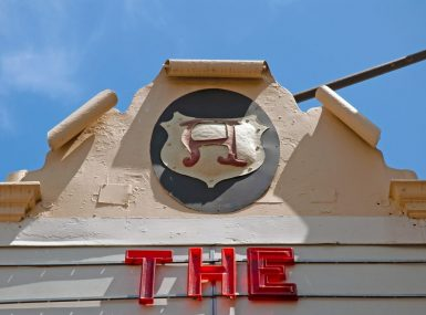 Arlington Theatre Marquee, Santa Barbara