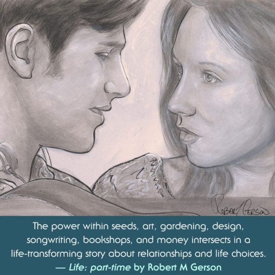 Nicholas and Paige from the novel Life: part-time ivy Robert Gerson