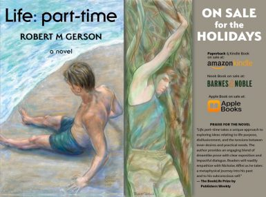 Holiday sale for novel, Life: part-time